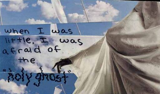 Afraid from PostSecret
