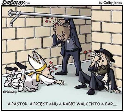 Pastor Priest Rabbi