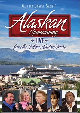 Back in the day, we couldn't resist adding former Alaska Governor Sarah Palin to this Gaither Gospel DVD cover.