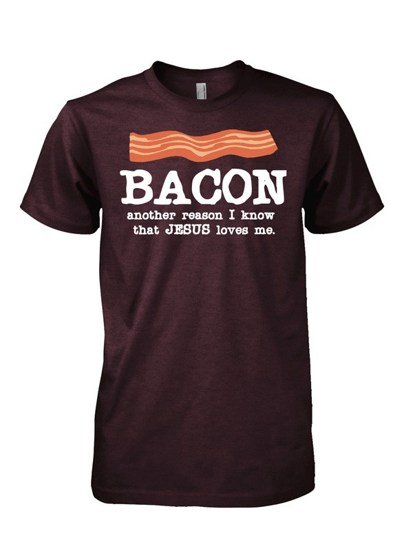 Bacon Shirt from Red Letter 9 Apparel