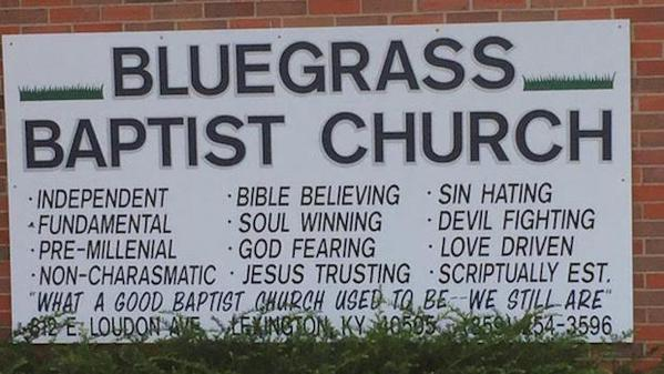 Bluegrass Baptist Church