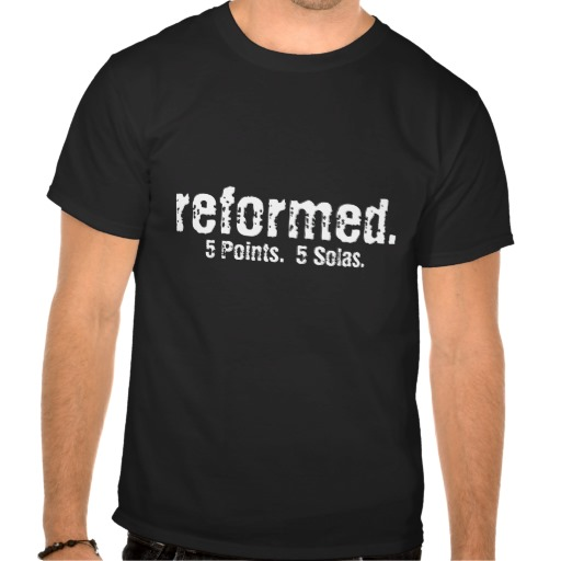 Reformed T-Shirt at Zazzle