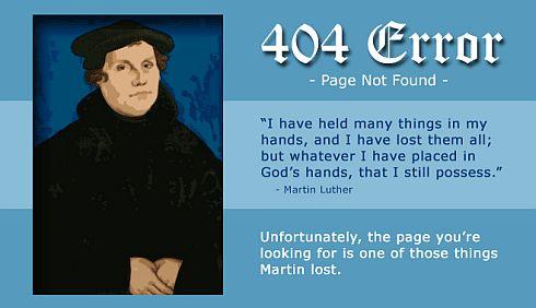 ELCA 404 Page