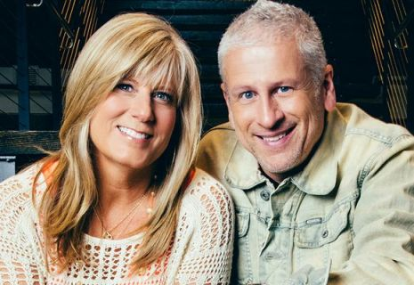 Louie Giglio, pictured here with wife Shelley, isn't a household name among Evangelicals, unless you're under a certain age