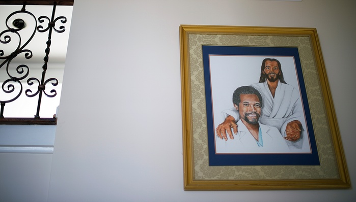 Ben Carson at the Right Hand of Jesus