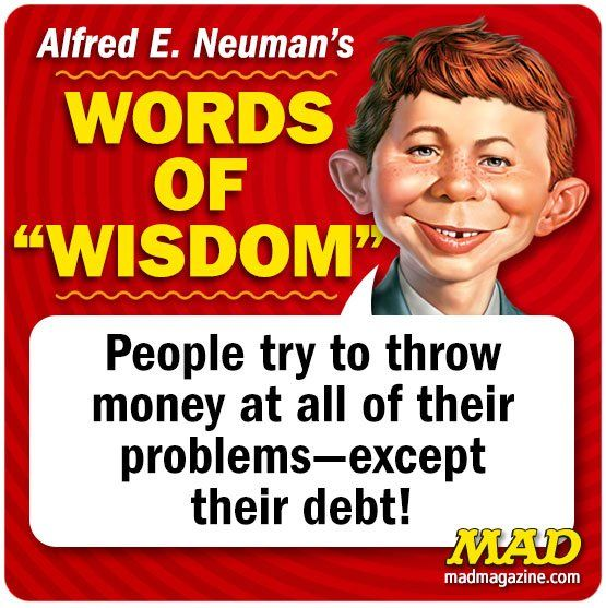 Debt Problem - Mad Magazine