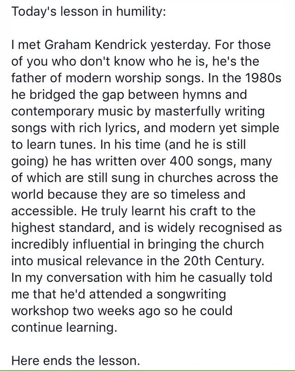 Graham Kendrick songwriting