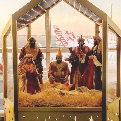 Virgin Birth at Sydney Airport