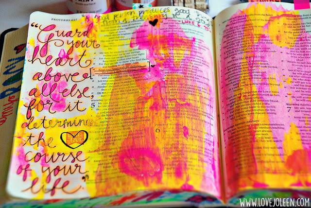 Bible Journaling 1