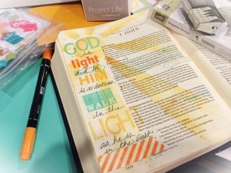 Bible Journaling 4