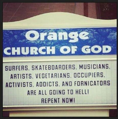 Orange Church of God - Repent Now