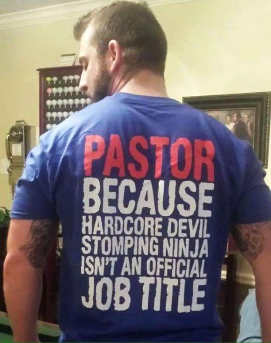 Pastor Job Title