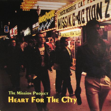 This Yonge Street Mission fundraising album's cover shot sees the street in warmer days than described in today's article. See today's footnote for a song from the L.P.