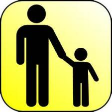 parent child - Wikipedia commons