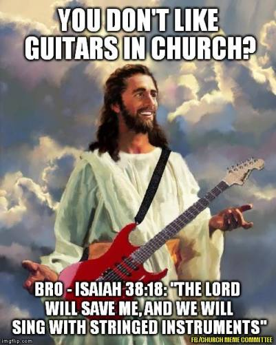 Guitars in Church
