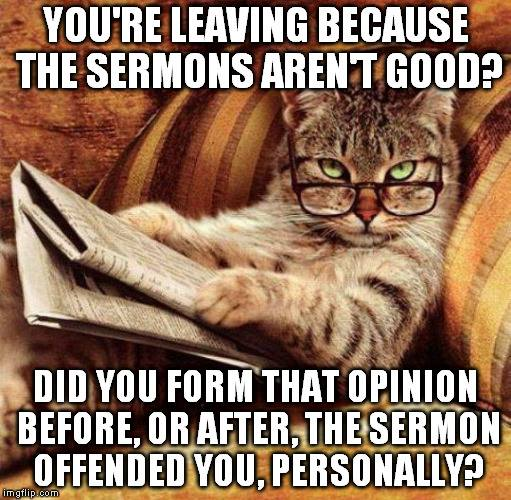 Sermon - Offended