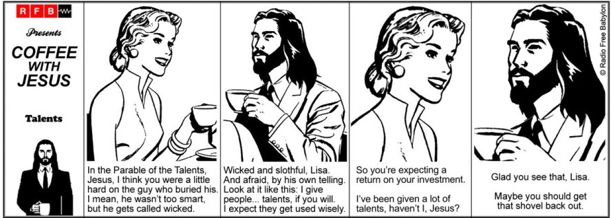Coffee With Jesus - Talents