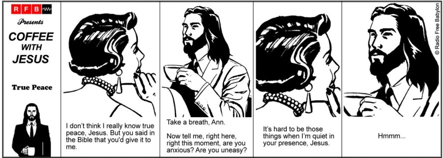 Coffee With Jesus - True Peace