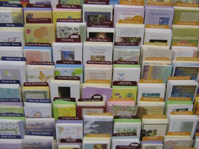 Greeting Card Rack