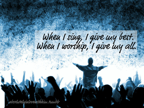 Giving Your Best in Worship