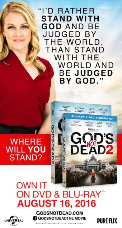 God's Not Dead 2 Billboard