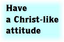 Jesus - Humility