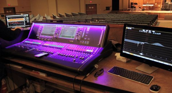 As the worship team at Central Neighborhood Tabernacle arrived for a 7:30 AM set up, there was no mistaking that the sound console was emitting a supernatural light.
