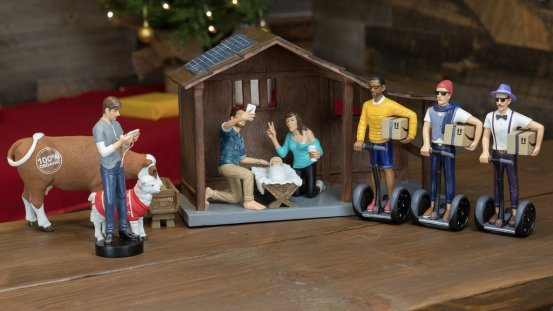 hipster-nativity-set