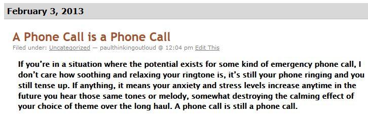 ring-tone
