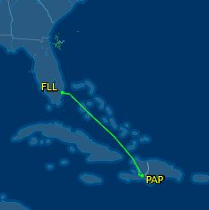 FLL to PAP
