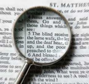 Bible magnifying - large print