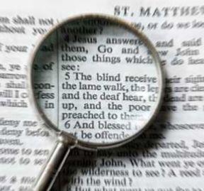 Bible magnifying - large print